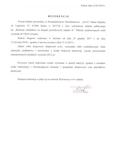 Referencje Starostwo za 2018-1